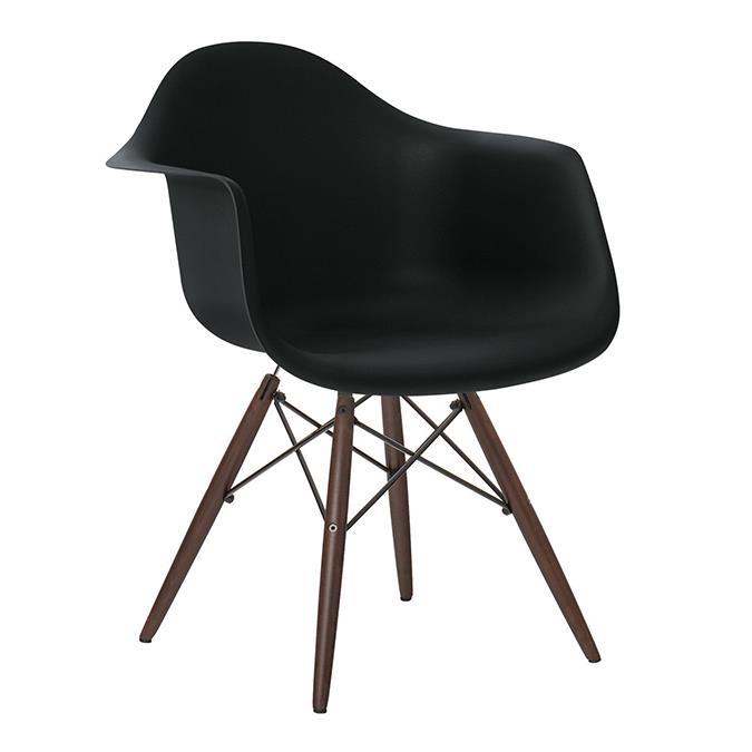 Set da 4 Sedie design nere modello Federica | Brigros