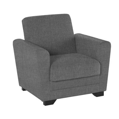 Divano dynamic armchair grey