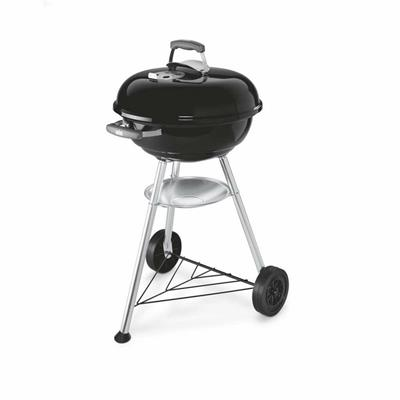 Barbecue Compact Kettle compatto 47 cm nero