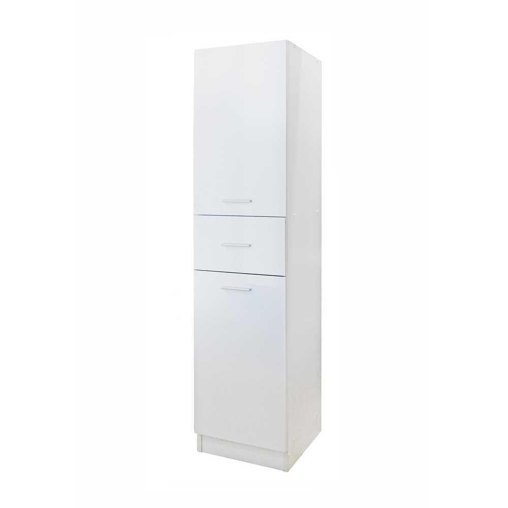 Base singola 35x35x148 6cm bianco brigros for Articoli da bagno