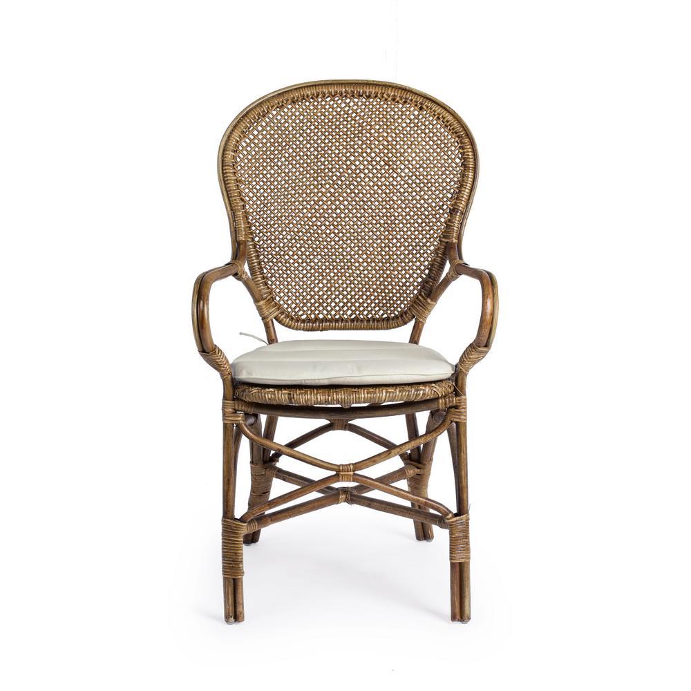 Set 2 sedie rattan da esterno edelina miele brigros - Sedie da giardino rattan ...