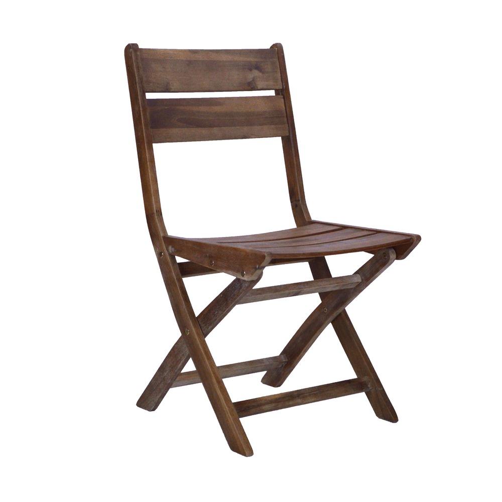 Sedie Da Esterno In Legno.Sedia Da Giardino Pieghevole In Legno 55x46x90 Cm Brigros