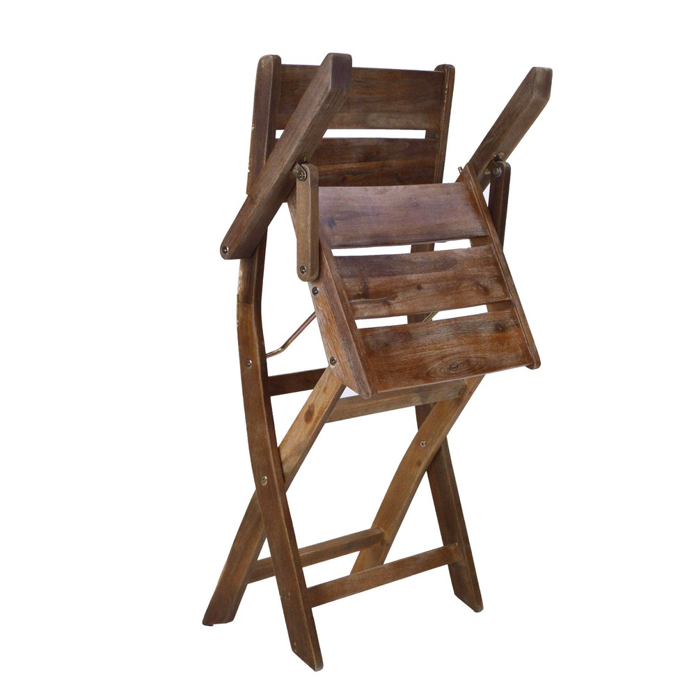 Sedie In Legno Pieghevoli Da Giardino.Sedia Da Giardino Con Braccioli Pieghevole In Legno Brigros