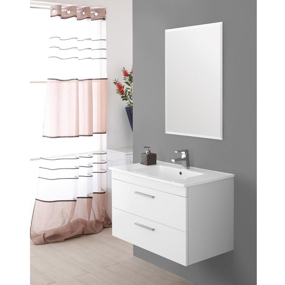 Mobile lavandino bagno con specchio Stella | Brigros