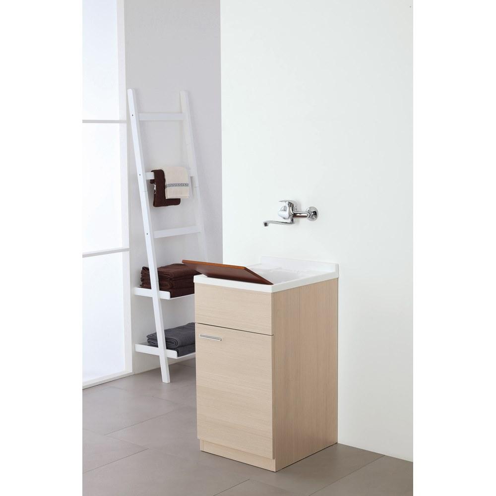 Lavabo con mobile color larice 45 cm Stella | Brigros