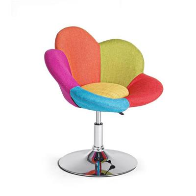 Set 2 poltroncine colorate Fleur Multicolor