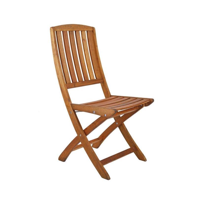 Sedie Per Esterno In Legno.Set 2 Sedie Pieghevoli In Legno Da Esterno Brigros