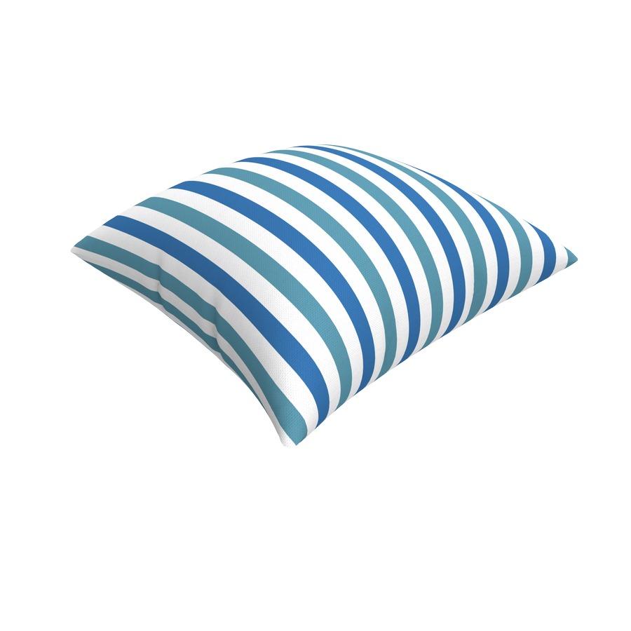 Cuscini Idrorepellenti Per Esterno cuscino da giardino home, versione blu. misure 43x43 cm