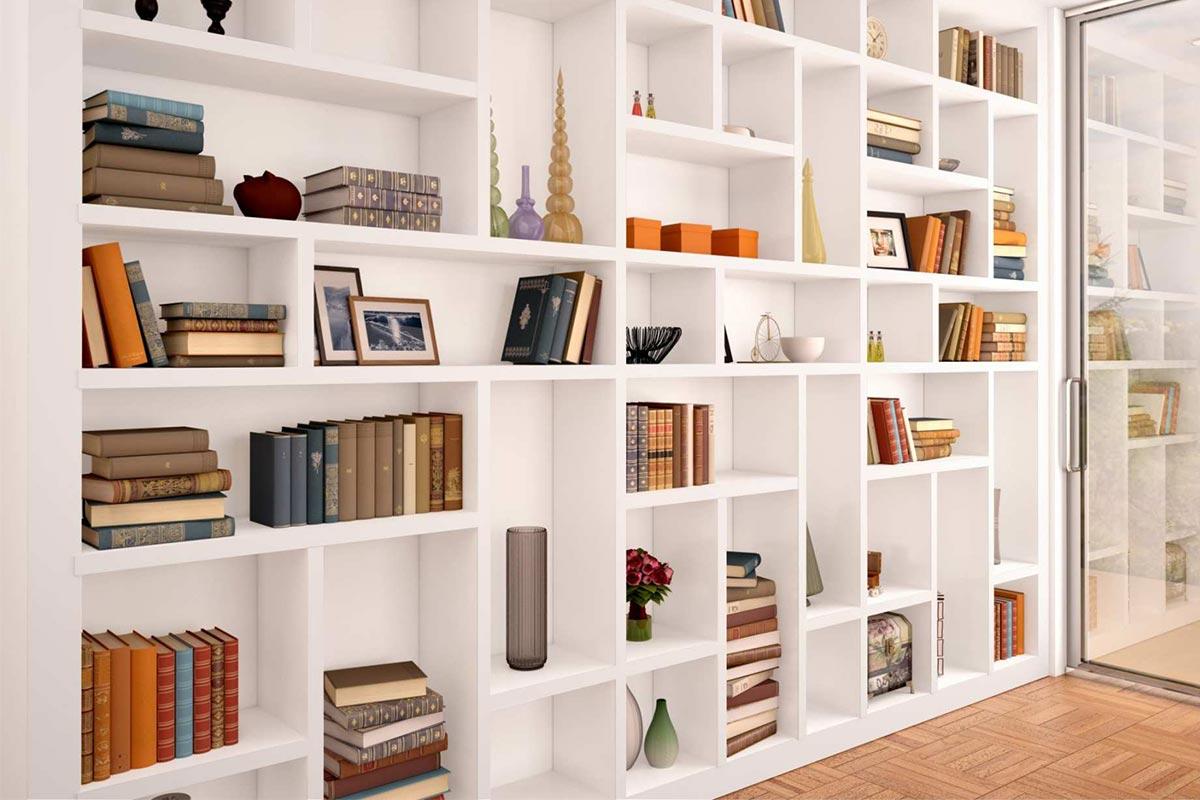 Costruire Libreria A Muro.Come Fare Una Libreria In Cartongesso Brigros
